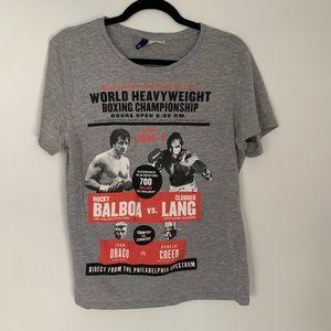 Rocky Balboa heavy weight champion T-shirt